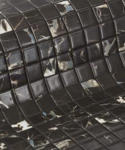 Glass mosaic tile Black Marble