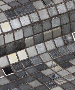 Glass mosaic tile Gin Fizz from Ezarri