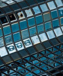 Glass mosaic tile Lava from Ezarri.